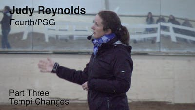 Instant Access to Judy Reynolds - Fourth/PSG - Part Three - Tempi Changes by Dressage Today Online, powered by Intelivideo