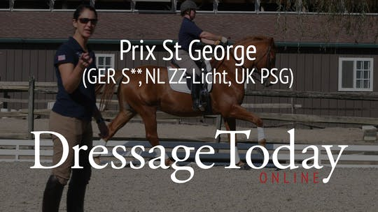 PSG - Prix St George (GER S**, NL ZZ-Licht, UK PSG) by Dressage Today Online