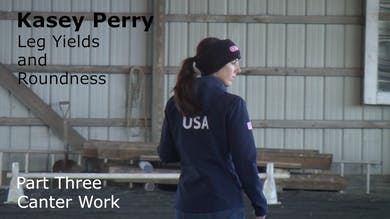 Kasey Perry-Glass - Leg Yields and Roundness - Part Three - Canter Work by Dressage Today Online