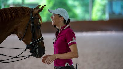Susanne von Dietze - The Rider's Seat by Dressage Today Online