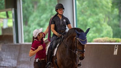 Susanne von Dietze - The Rider's Seat, Day 2/Ride 6 by Dressage Today Online