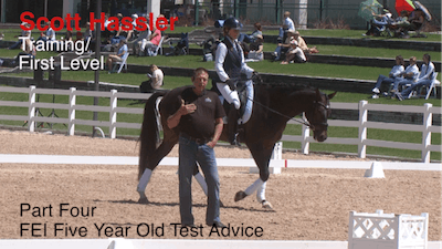 Instant Access to Scott Hassler - Training and First Level, Part 4, FEI 5-Year-Old Test by Dressage Today Online, powered by Intelivideo