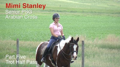 Mimi Stanley - Senior PSG Arabian Cross, Part 5 - Trot Half Pass by Dressage Today Online