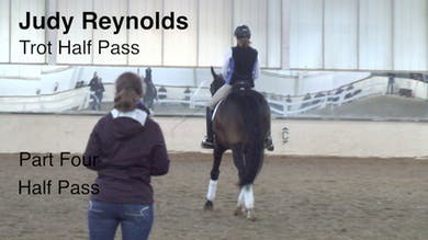 Judy Reynolds - Trot Half Pass, Part 4 by Dressage Today Online