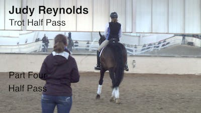 Instant Access to Judy Reynolds - Trot Half Pass, Part 4 by Dressage Today Online, powered by Intelivideo