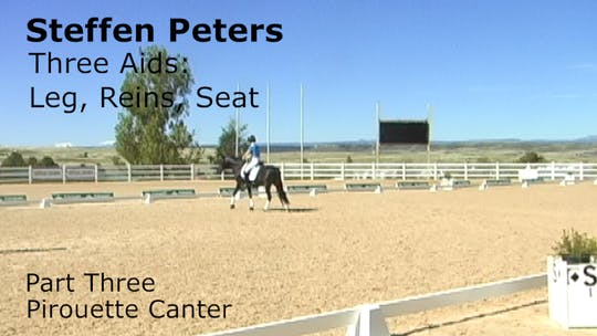 Instant Access to Steffen Peters - Three Aids - Part Three - Pirouette Canter by Dressage Today Online, powered by Intelivideo