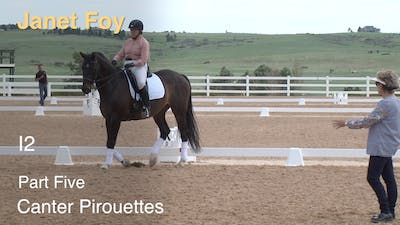 Janet Foy - Intermediate II, Part 5 - Canter Pirouettes by Dressage Today Online