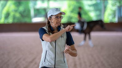 Susanne von Dietze - The Rider's Seat, Day 1/Ride 6 by Dressage Today Online