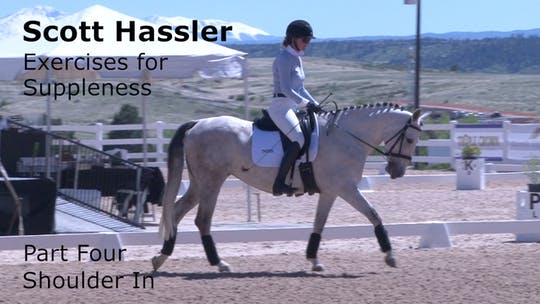 Instant Access to Scott Hassler - Exercises for Suppleness - Part Four - Shoulder In by Dressage Today Online, powered by Intelivideo