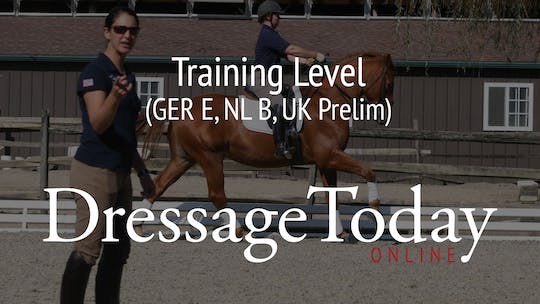 Training Level (GER E, NL B, UK Prelim) by Dressage Today Online