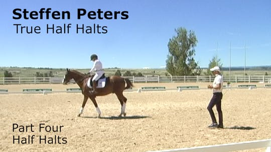 Instant Access to Steffen Peters - True Half Halts - Part Four - Half Halts by Dressage Today Online, powered by Intelivideo