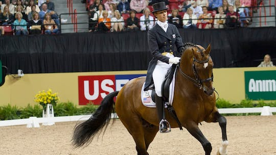 Courtney King-Dye by Dressage Today Online