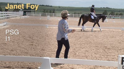 Janet Foy - Prix St. Georges/Intermediate 1 Intro by Dressage Today Online