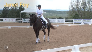 Janet Foy - Working Through Intermediate II Intro by Dressage Today Online