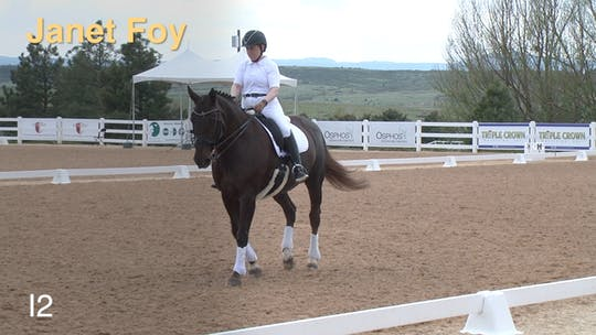 Instant Access to Janet Foy - I2 by Dressage Today Online, powered by Intelivideo