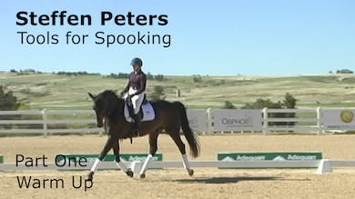 Steffen Peters - Tools for Spooking - Part 1 - Warm Up by Dressage Today Online
