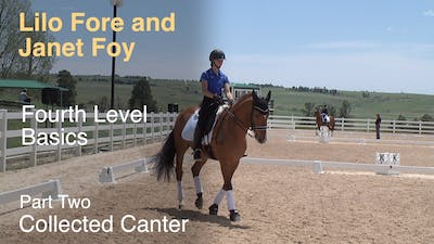 Janet Foy and Lilo Fore - Fourth Level Basics - Part Two - Collected Canter by Dressage Today Online