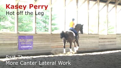 Kasey Perry-Glass - Hot Off the Leg, Part 3 - More Canter Lateral Work by Dressage Today Online