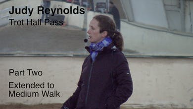 Judy Reynolds - Trot Half Pass, Part 2 by Dressage Today Online