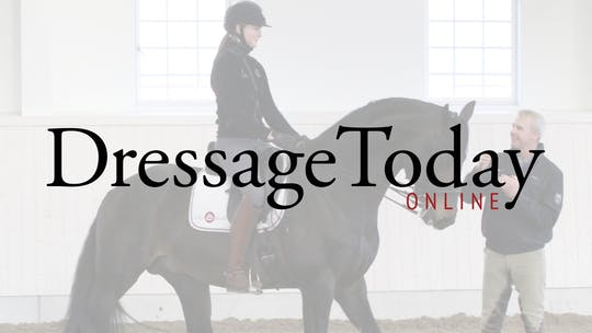 Katrin Bettenworth - Throughness and obedience and gaining more steadiness in the contact by Dressage Today Online