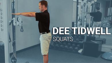 Dee Tidwell: Squats by Golf Life