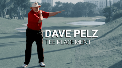 Dave Pelz Tee Placement by Golf Life