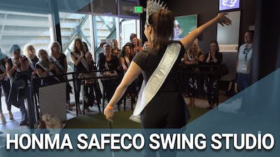 Honma Safeco Swing Studio by Golf Life