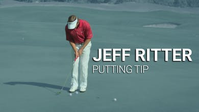 Jeff Ritter: Putting Tip by Golf Life