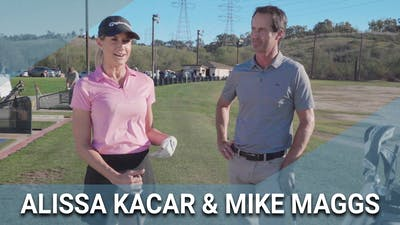Alissa Kacar and Mike Maggs Story by Golf Life