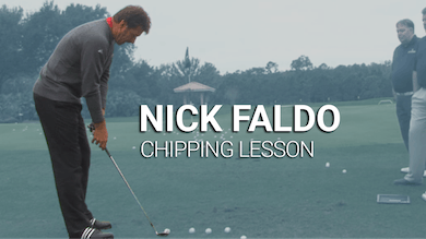 Nick Faldo: Chipping Lesson by Golf Life