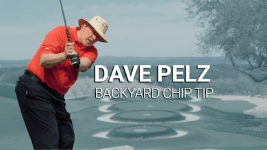 Dave Pelz: Backyard Chip Tip by Golf Life