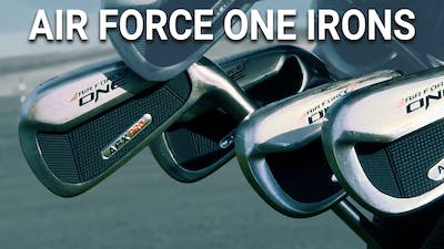 Air Force One Irons by Golf Life