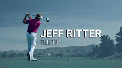 Jeff Ritter Tee Tip by Golf Life