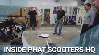 Go Inside Phat Scooters HQ by Golf Life