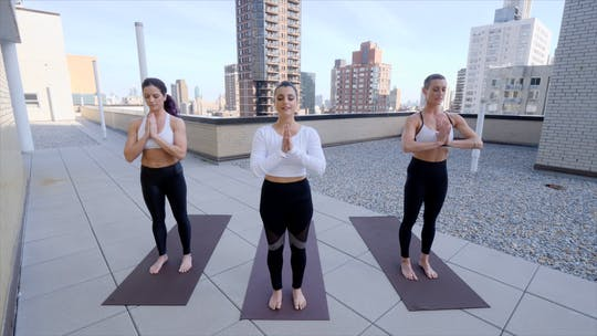 Instant Access to Morning Mindful Mantra by Exhale On Demand, powered by Intelivideo