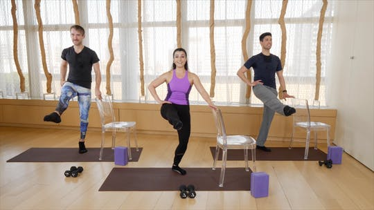 Instant Access to Total Body Barre by Exhale On Demand, powered by Intelivideo