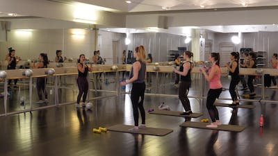 Instant Access to In-studio: Barre with Nicole Uribarri, 2.18.19 by Exhale On Demand, powered by Intelivideo