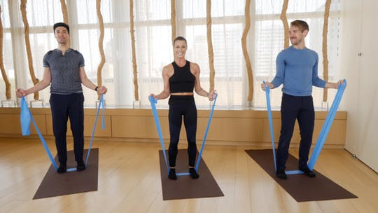 Instant Access to Band Barre by Exhale On Demand, powered by Intelivideo