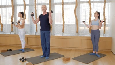 Barre Sculpt with Weights by Exhale On Demand