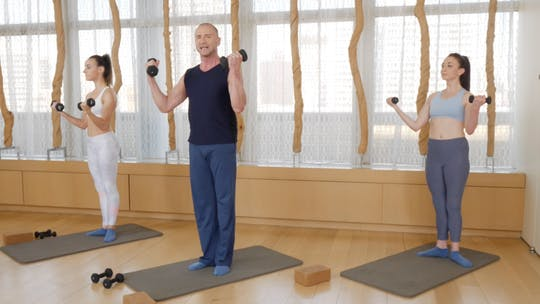 Instant Access to Barre Sculpt with Weights by Exhale On Demand, powered by Intelivideo