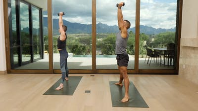 Instant Access to Yoga with Weights by Exhale On Demand, powered by Intelivideo