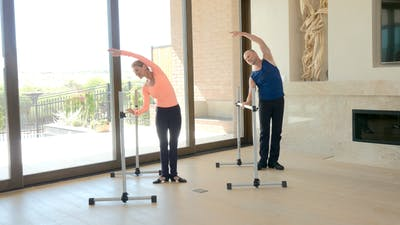 Instant Access to Basic Ballet Barre by Exhale On Demand, powered by Intelivideo