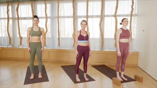 Instant Access to Gentle Yoga by Exhale On Demand, powered by Intelivideo