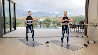 Instant Access to Barre Amp'd by Exhale On Demand, powered by Intelivideo