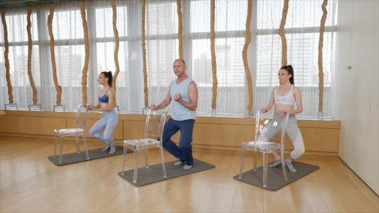 Instant Access to Mindful Barre by Exhale On Demand, powered by Intelivideo