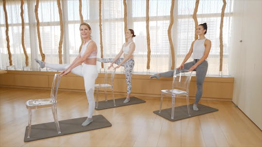 Instant Access to Flow Barre by Exhale On Demand, powered by Intelivideo