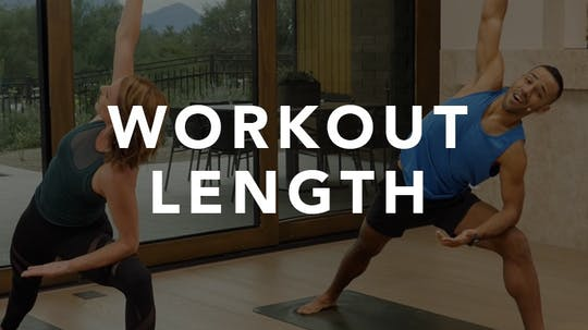 Workout Length by Exhale On Demand