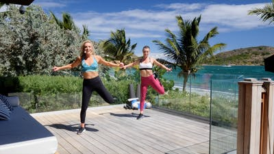 Instant Access to Tropical Cardio Dance by Exhale On Demand, powered by Intelivideo