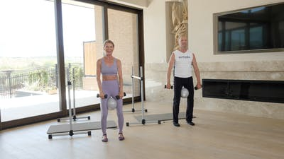 Instant Access to Barre with Props by Exhale On Demand, powered by Intelivideo
