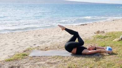 Ab Shred on the Beach by Exhale On Demand